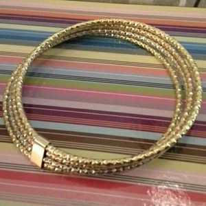 Jewelry - 14k solid gold multi colored bracelet